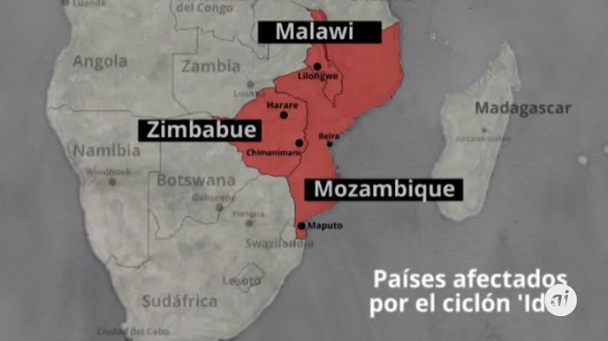 El ciclón Idai deja ya más de 200 muertos en Mozambique