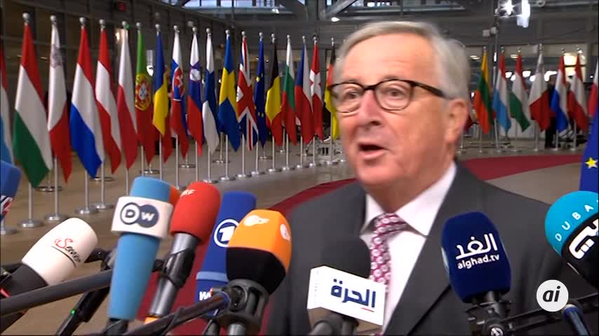 """Juncker duda que esta semana haya fecha sobre el """"brexit"""""""