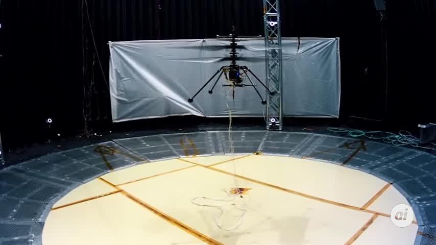 La NASA afina el diseño del helicóptero que enviará a Marte