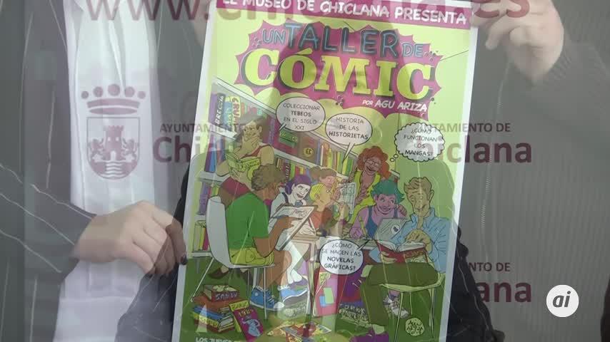Agu Ariza impartirá un taller de cómic a partir del 4 de abril