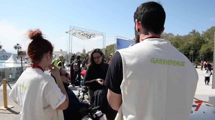 Greenpeace pide al ayuntamiento plan urgente de reducción de plásticos