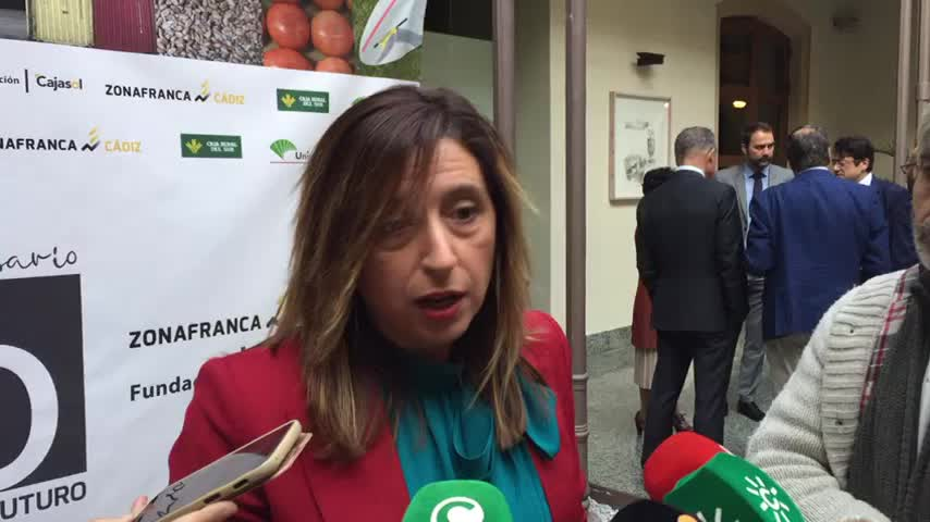 Las zonas francas unen sus lazos en el 90 aniversario de Cádiz