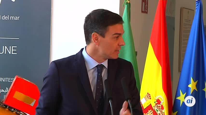 La visita 'sostenible' de Sánchez