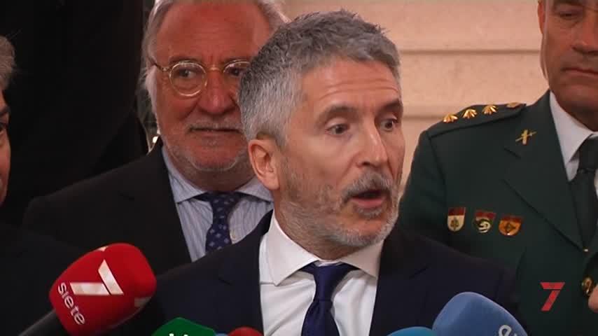 Marlaska felicita a los cuerpos de seguridad por el dispositivo del GP