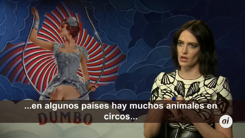 Eva Green avanza claves sobre el nuevo remake de 'Dumbo'