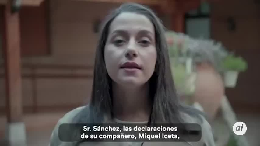 """Arrimadas pide a Sánchez el cese """"inmediato"""" de Miquel Iceta en el PSC"""