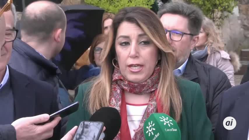 """Díaz tilda de """"farol"""" que Marín quiera aprobar presupuestos sin Vox"""