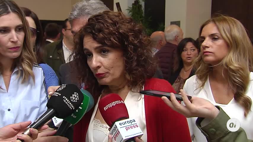 """Montero: """"El impuesto de sucesiones solo lo pagan los millonarios"""""""