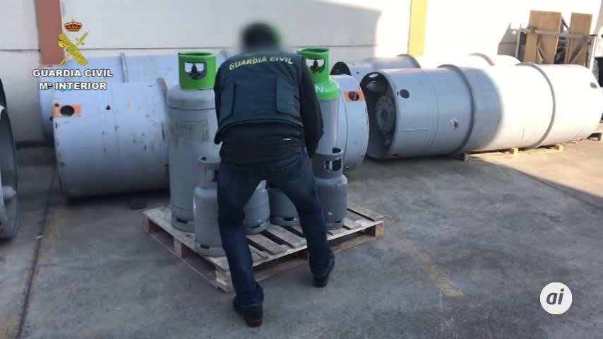 Destapan el contrabando de un gas destructor de la capa de ozono
