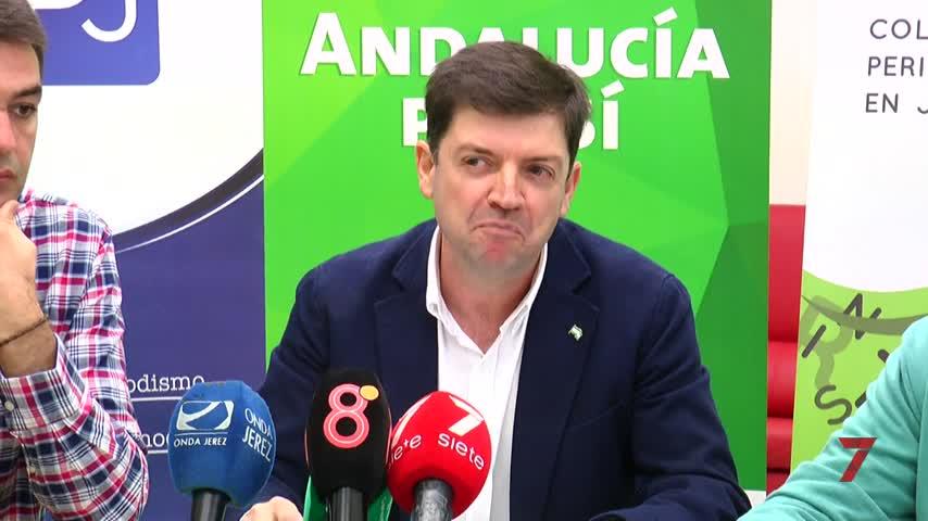 José Antonio López, candidato a la alcaldía por AxSí Jerez