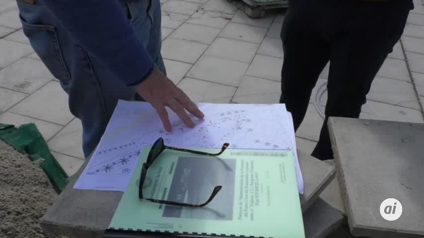 Arrancan las obras de la plaza del Rompidillo
