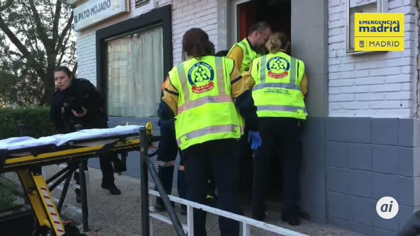 Un herido muy grave por arma de fuego en un local de copas de Madrid