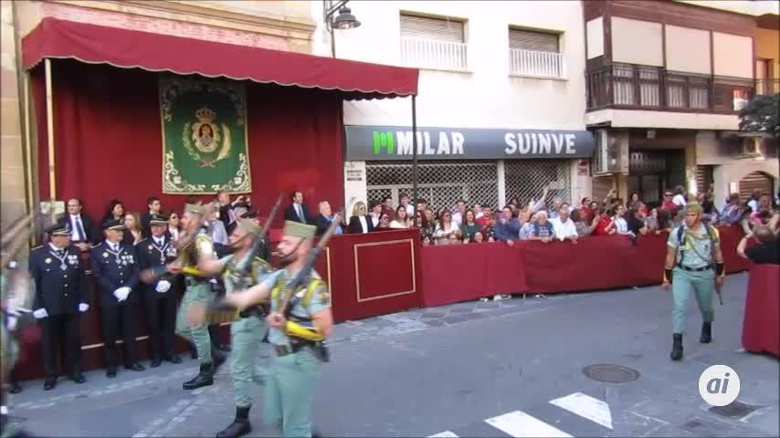 La Legión levanta pasiones en Algeciras