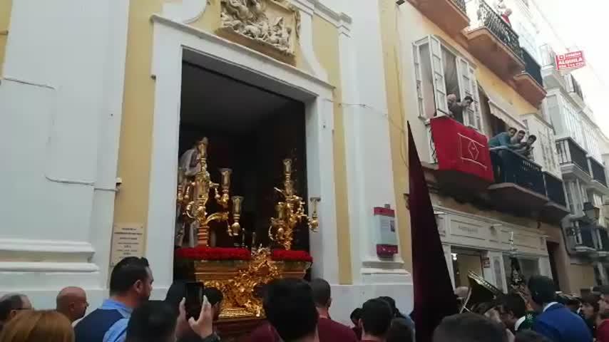 Salida de Ecce Homo desde San Pablo