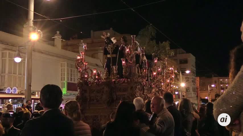 Prendimiento abre los desfiles procesionales del Martes Santo