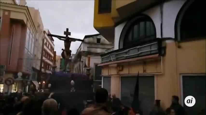 El agua hace regresar a la Buena Muerte en Algeciras