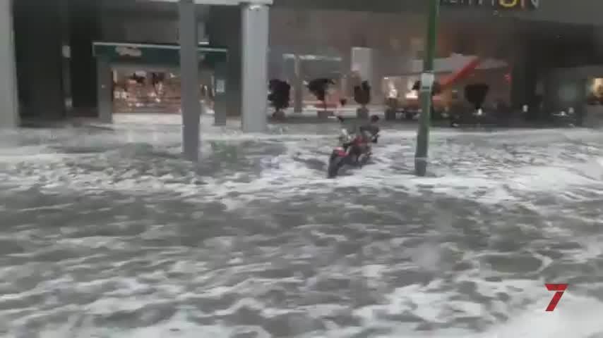 Más de 300 incidencias y 50 calles cerradas en Sevilla por el temporal