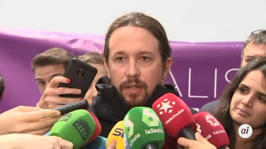 Iglesias acusa al Gobierno de haber hecho un uso instrumental de RTVE