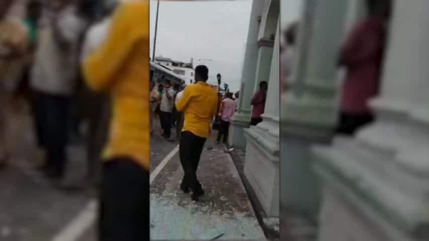 Más de 200 muertos en atentados en iglesias y hoteles de Sri Lanka
