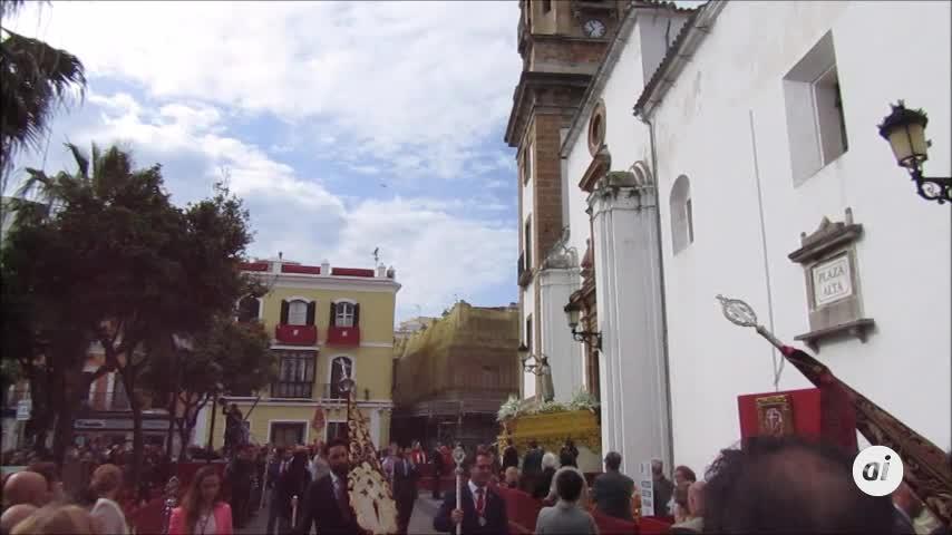 El Resucitado pone el colofón a la Semana Santa de Algeciras