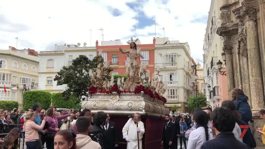 Jesús Resucitado pone fin a la Semana de Pasión en Cádiz