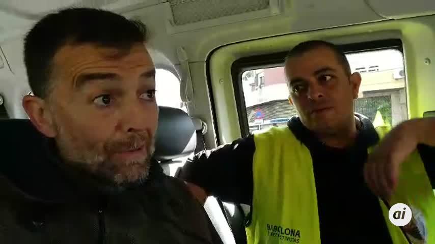 """Maíllo, con los taxistas: """"PP y Cs quieren uberizar toda la economía"""""""