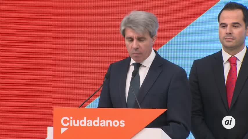 El expresidente de la Comunidad de Madrid se pasa a Ciudadanos
