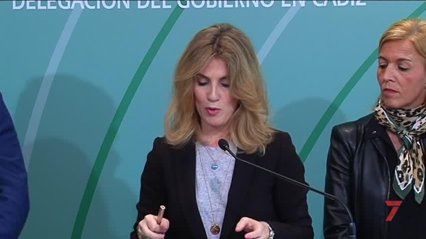 """Mestre destaca la """"cohesión"""" del nuevo Gobierno andaluz en Cádiz"""