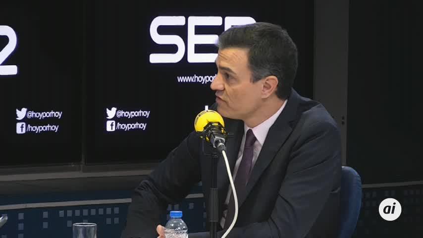 Sánchez no quiere que la gobernabilidad descanse en independentistas