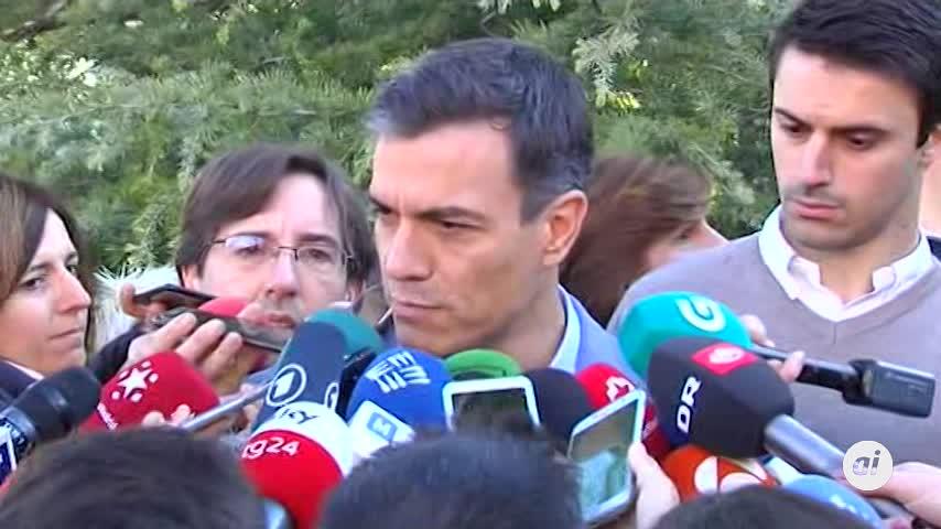 """Pedro Sánchez pide una mayoría parlamentaria """"amplia"""""""