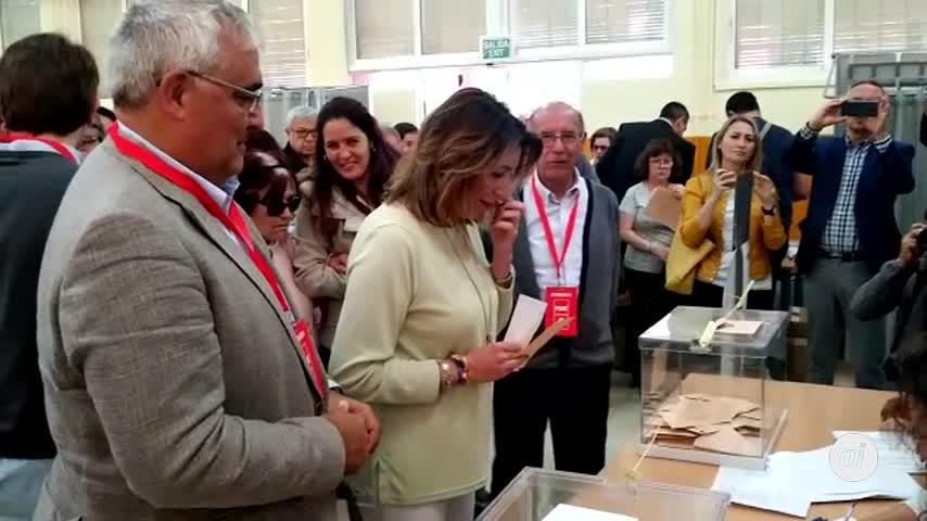 """Susana Díaz: """"Los ciudadanos saben lo que se juegan"""""""