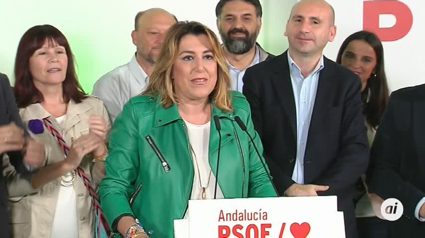 """Susana Díaz se quita la """"espinita"""""""