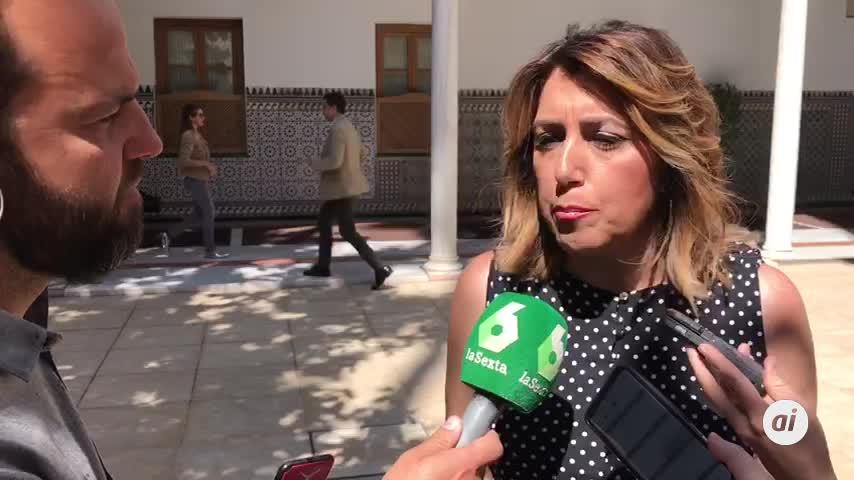 """Díaz critica al Gobierno andaluz por """"ceder a los chantajes"""" de Vox"""
