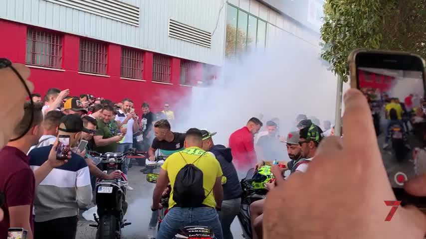 Seis heridos por incidentes de tráfico en Jerez el primer día del GP