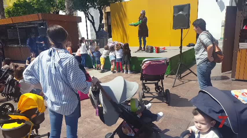 Precioso acto por el Día de la Madre en la Plaza Alta de Algeciras