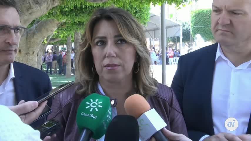 Díaz pedirá a la Junta la información de trabajadores dada a Vox
