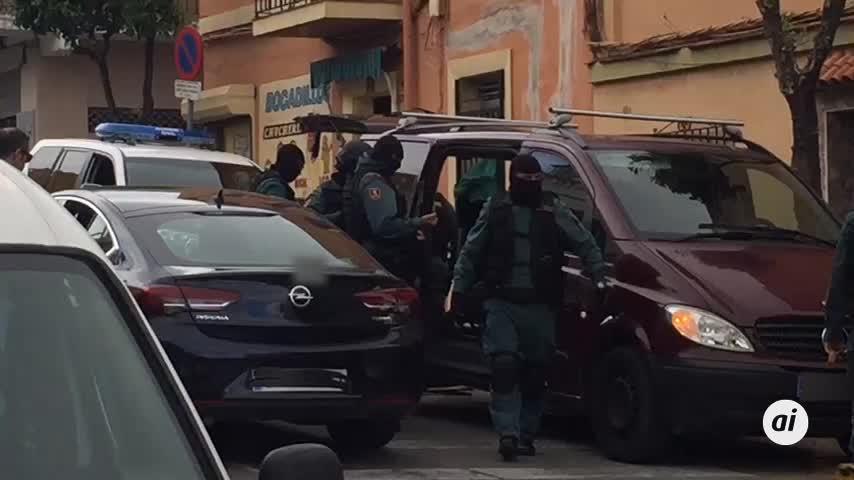 Registros en Algeciras y La Línea en una operación antidroga