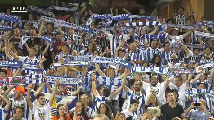 La Real Sociedad levanta su primer título al vencer al Atlético