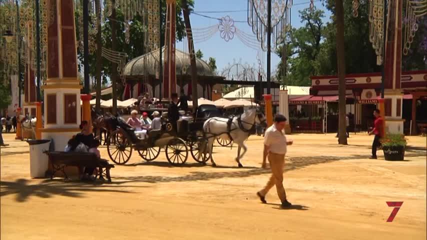 El lunes de Feria del Caballo en 7 TV Jerez