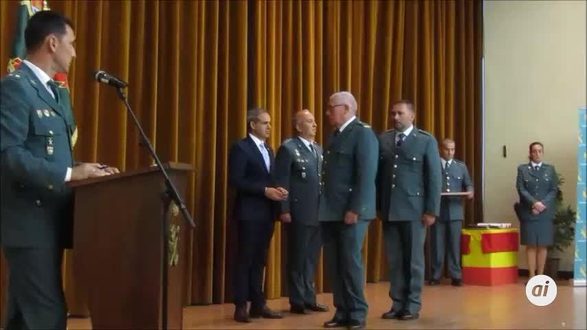 La lucha contra los narcos marca el aniversario de la Guardia Civil