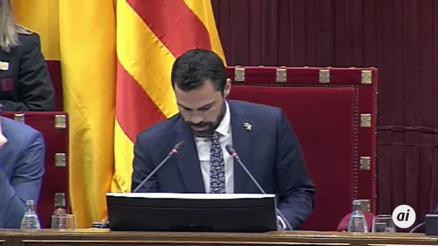 El Parlament rechaza que Iceta sea senador