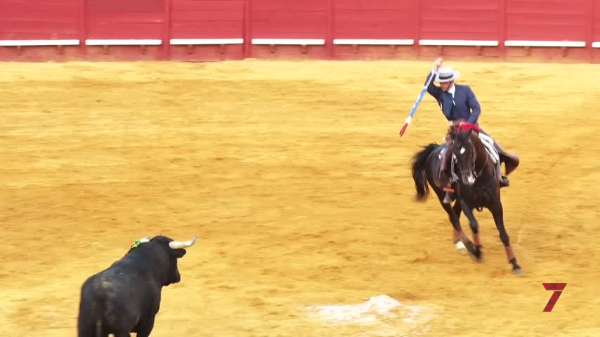 Primera puerta grande del abono taurino de Jerez
