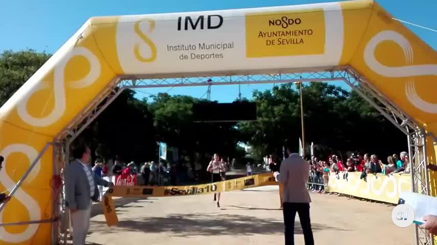 Olmedo y Ledesma ganan la Carrera Popular Parque de Miraflores