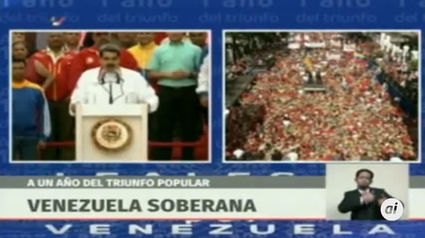 Maduro propone adelantar elecciones como solución a crisis