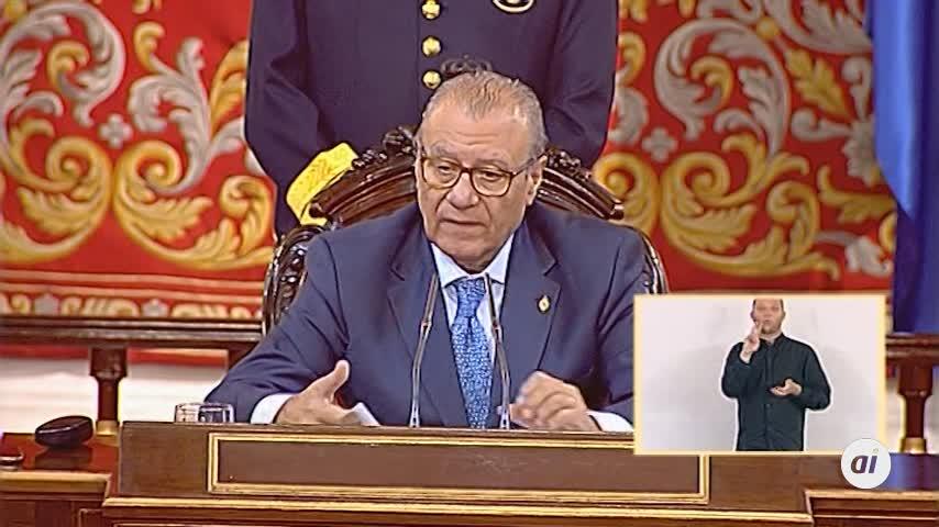Manuel Cruz (PSC), elegido presidente del Senado con 140 votos a favor