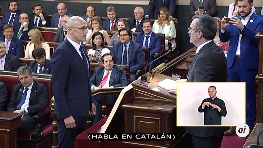 "Romeva acata la Constitución ""como preso político"""