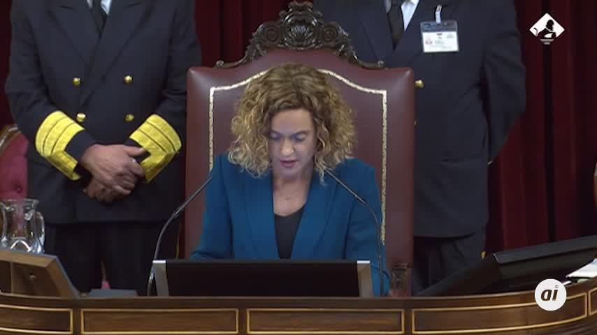 Meritxell Batet, elegida nueva presidenta del Congreso