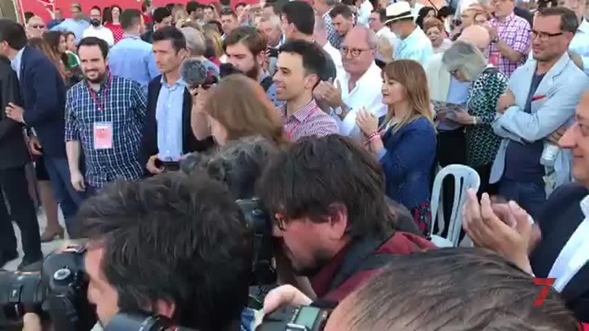 """Espadas pide para el PSOE de Sevilla una mayoría """"potente y fuerte"""""""
