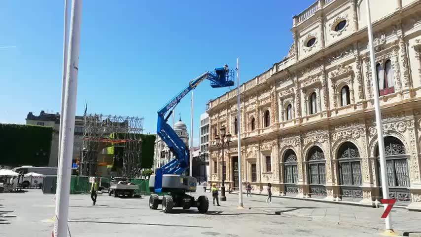 Sevilla ya se viste para el Corpus