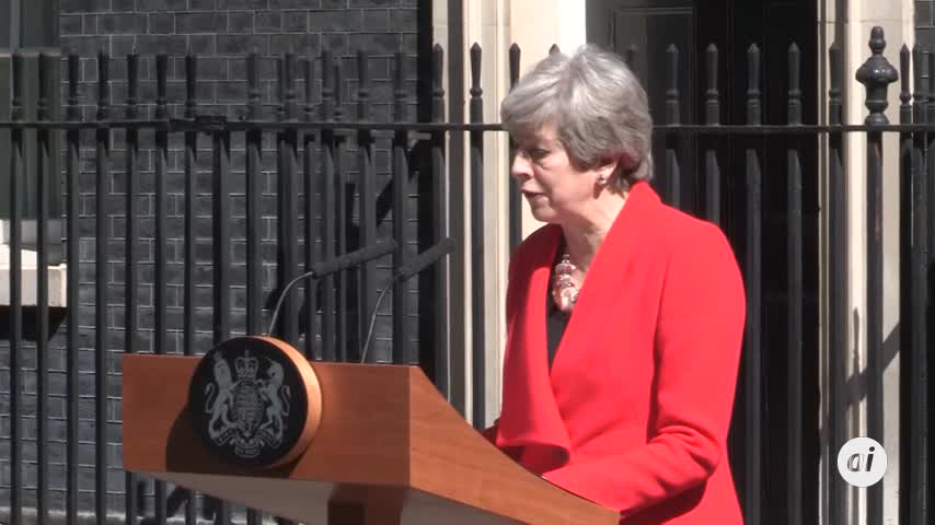 Theresa May anuncia que dimitirá el 7 de junio